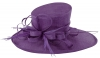 Max and Ellie Ascot Hat in Violet