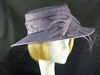 Gina Bacconi Ascot hat in Lavender Pattern