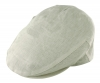 Failsworth Millinery Irish Linen Cap in White