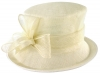 Failsworth Millinery Loops Wedding Hat in White