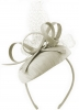 Failsworth Millinery Silk Pillbox in White