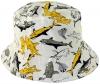 Jiglz Shark Cotton Sun Hat in White