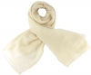 Max and Ellie Fine Woven Scarf in White