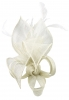 Max and Ellie Lily Comb Fascinator in White