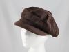 Whiteley Brown Cotton Cap