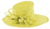 Max and Ellie Ascot Hat in Yellow