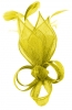 Max and Ellie Lily Comb Fascinator in Yellow
