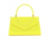 Papaya Fashion Patent Evening Bag in Yellow